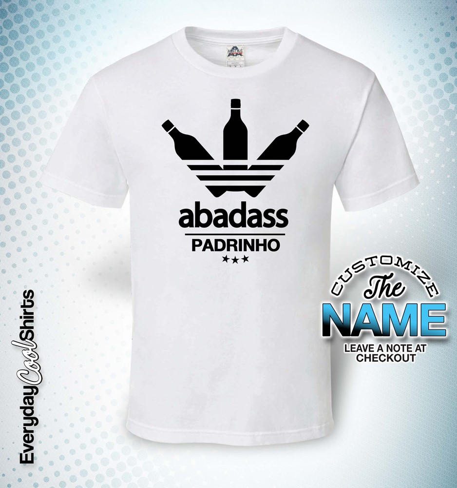Abadass Padrinho, Grandpa Gift, Padrinho Padrinho Gift, Birthday, Father's Day, Padrinho Short Sleeve Tshirt, Padrinho Gift Idea, Baby Shower, Pregnancy 338213