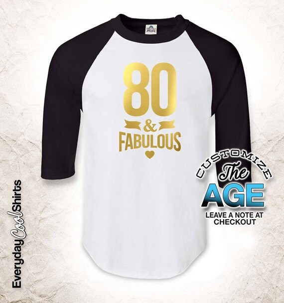 80 And Fabulous 80th Birthday Gifts For Men