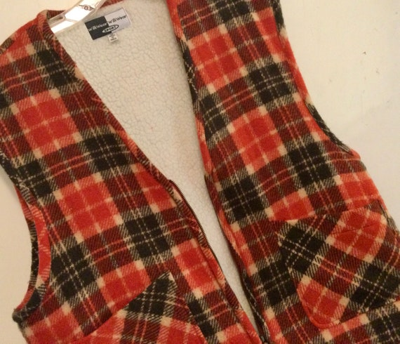 """1980s WilliWear Sport Vest """"Thom Browne-Style"""" Red"""