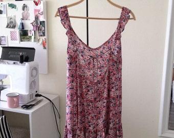 Colorful Dress/Colorful Summer Dress/Colorful Short Dress/Colorful Short Sundress/Natural Sundress