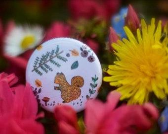 Little squirrel badge