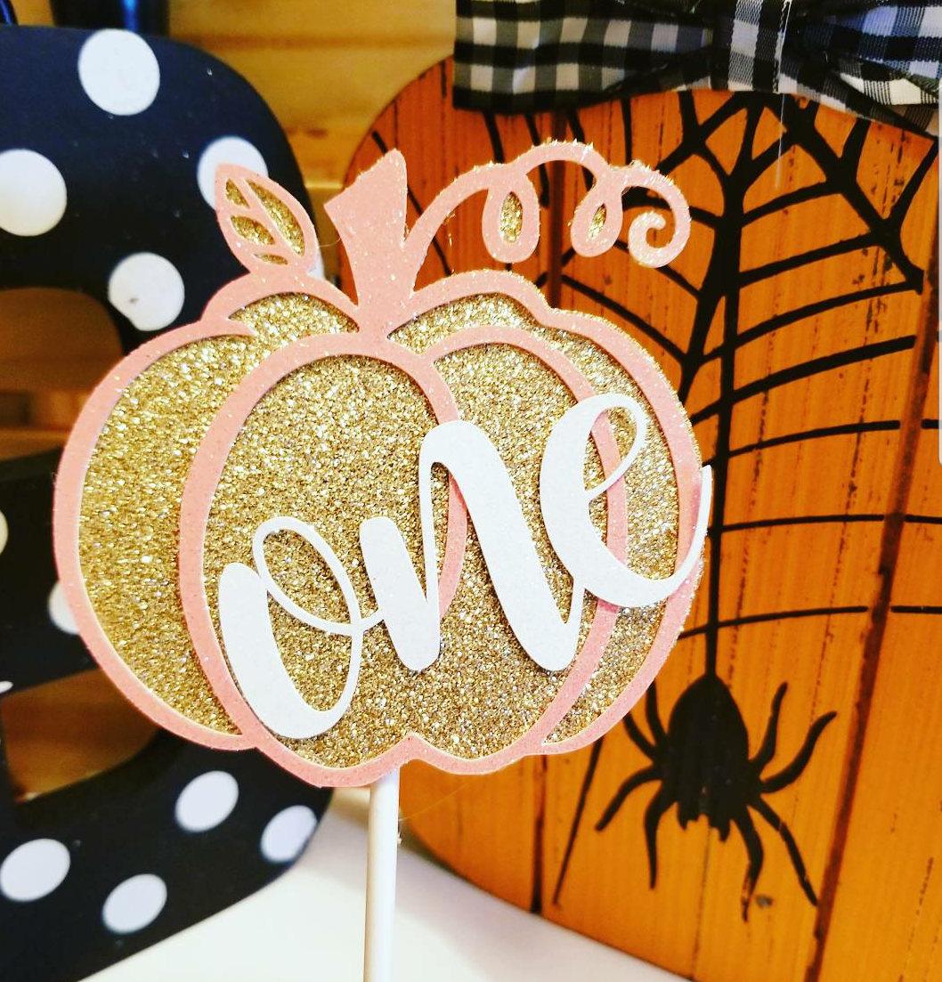 Pumpkin Smash Cake: Pumpkin Cake TopperSmash Cake TopperPumpkin Birthday