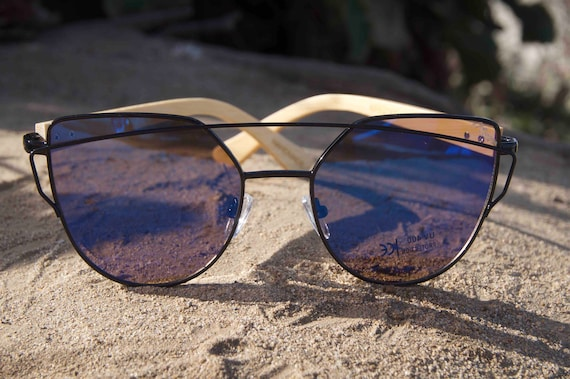 96c38712ff3 Wooden sunglasses. Canyon Cedar. Handmade wood arms with black