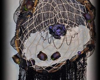 Black Roses Dreamcatcher