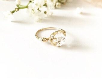 e7d644ea81e5 Swarovski crystal ring