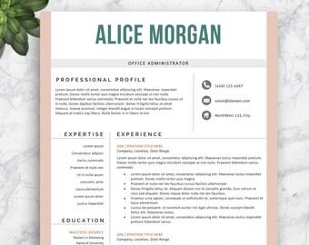sale nurse resume template nursing resume professional etsy