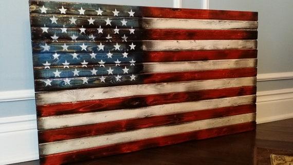 American flag pillow | Etsy