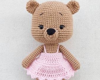 FREE amigurumi bear pattern | Ganchillo amigurumi, Oso de ... | 270x340