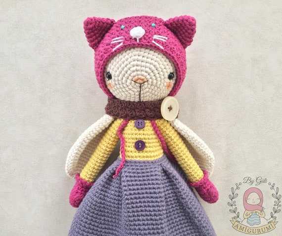 Long Eared Bunny Amigurumi - Crochet Pattern & Tutorial - Creativa ... | 478x570