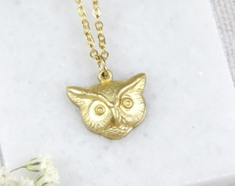 Silver Color Steel Owl Locket 3 LOCKETS in 1 Owl Necklace Owl Gift for Teen Girl Holds Picture or Mirror Personalized Owl Jewelry