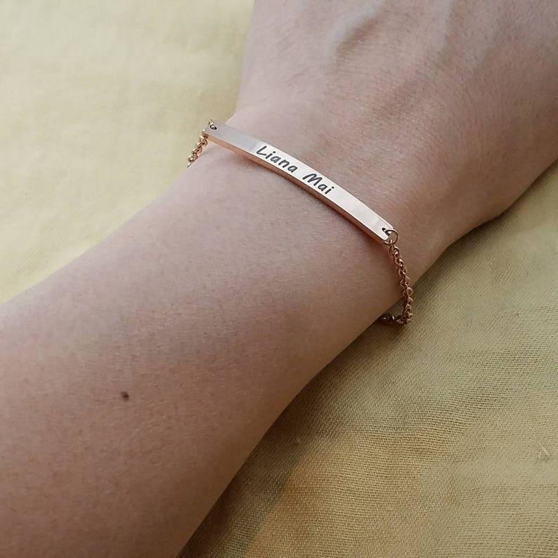5dba9253f393 Pulsera personalizada nombre pulsera amistad pulseras regalo