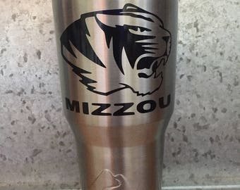 Mizzou Vinyl Decal
