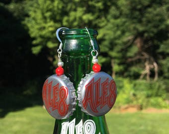 Ale 8 1 bottle Earrings