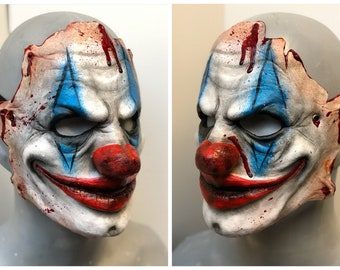 Horror Clown Halloween/Cosplay Mask LATEX