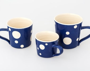 Handmade Spotty Mug | Various Sizes
