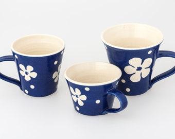 Handmade Flower Mug