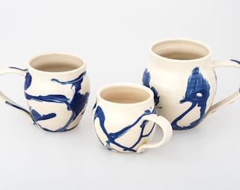 Handmade Marbled Mug