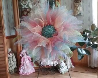 Sassy Flower Wreath
