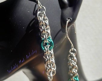 Round Maille Earrings