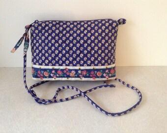 e20ca2b2bf Vintage Vera Bradley Crossbody Bag In Return To Happiness