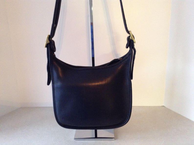 707c5609a8 Coach Black Leather Legacy Shoulder Bag