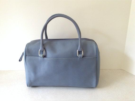 226597dfbd Diversifia américain grand sac à main / sac en bleu clair | Etsy