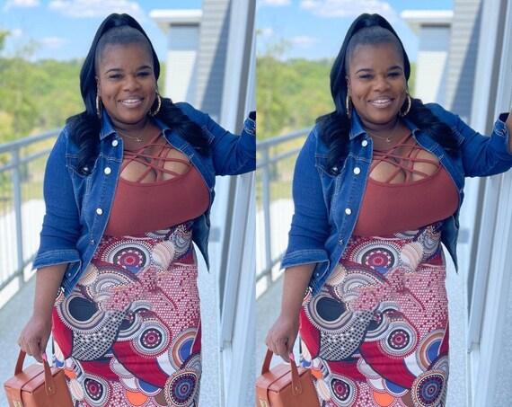 Rustic Maxi Skirt Set
