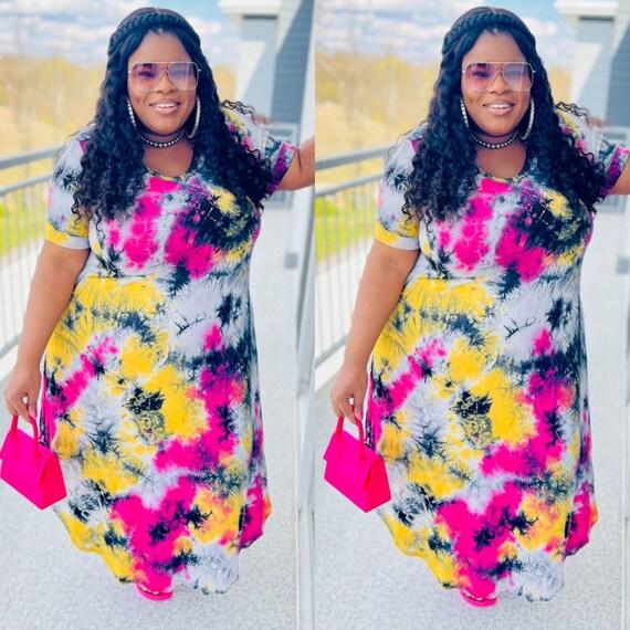 Splash Maxi Dress