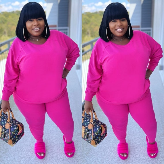 Jogger Sweatsuit ( Pink)