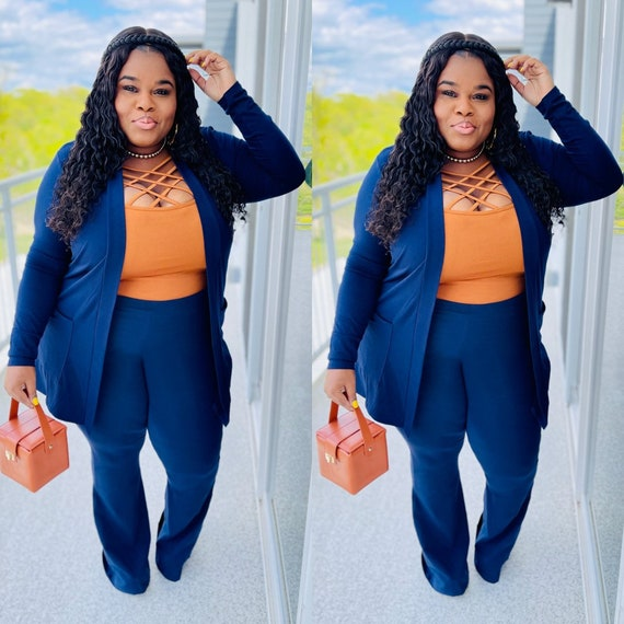 Brunch in the city set ( Navy )