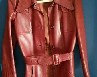 Leda spain by Gropper Vintage Leather Jacket
