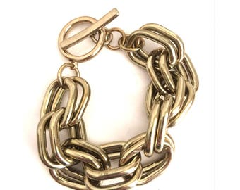 double strand toggle chain bracelet animal charity rescue fundraiser