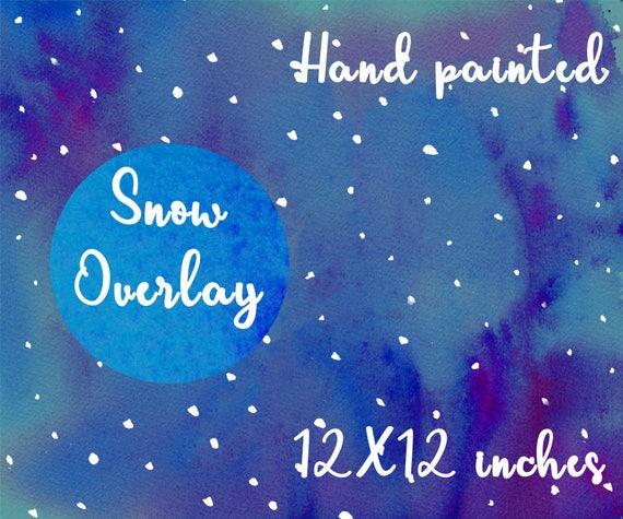 Schnee Overlay Schnee Png Schnee Clipart Schnee Etsy