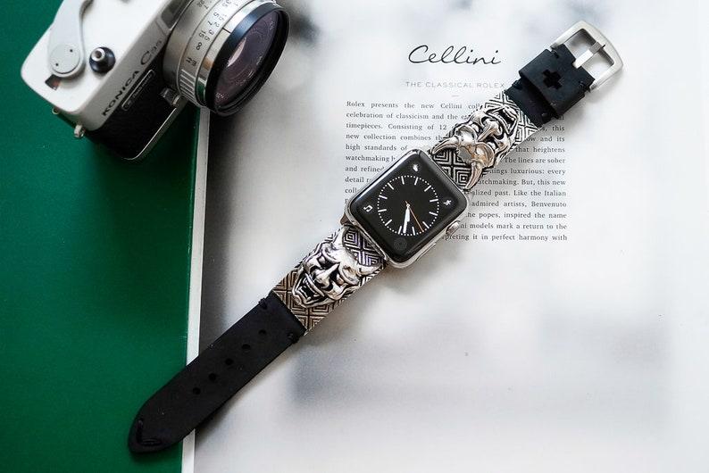 ca02ab58a Hanya Pendants Strap Apple Watch Series 4 band size 44mm40mm | Etsy