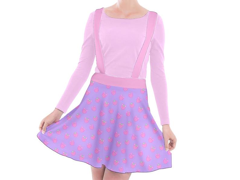 Sweatpants Cute Yume Kawaii Himekaji Harajuku Fairy Kei Jfashion Sweet Lolita Soft Patel Night Style Pink Purple Strawberry Bear Joggers