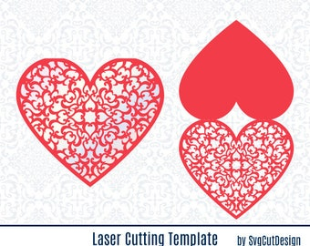 love greeting card laser cut templates mothers day mom svg etsy