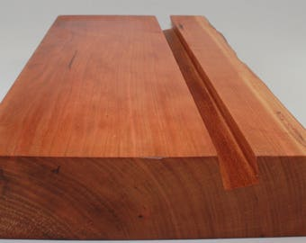 Cherry Wood Ipad Stand