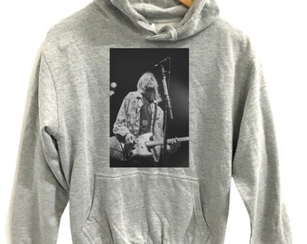 Kurt cobain poster Customised Urban Art Graphic hoodie novelty hoodie sweatshirt All sizes 4 colours available
