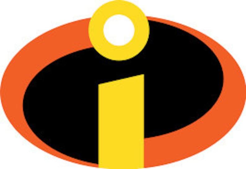 Incredibles Logo Vinyl Decal Pixar Car Laptop Cup Sticker ...