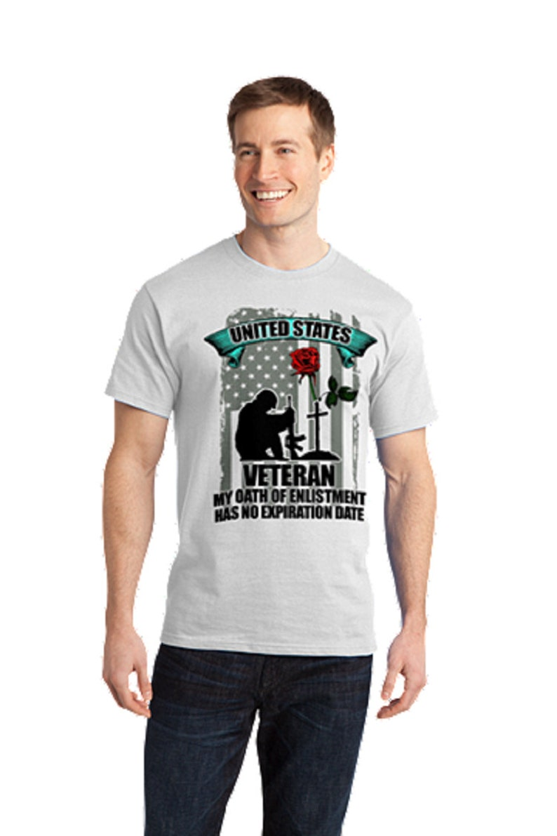 fcf8c941 United States Veteran My Oath of Enlistment has no expiration | Etsy