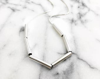 Multi Tube Necklace