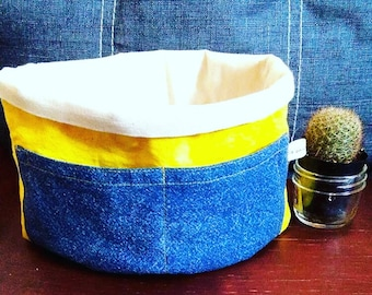 100% eco-friendly storage basket