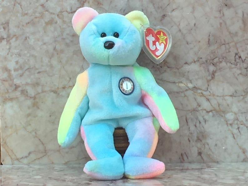 3ed0930b6b8 TY Beanie Baby B.B. Bear