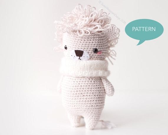 Lion Crochet PATTERN Amigurumi patterns pdf tutorial - TYRION the ... | 456x570
