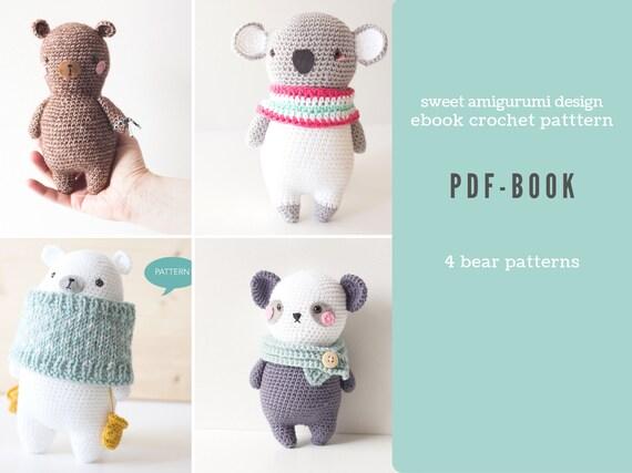Amigurumi Book Crochet Pattern | Crochet keychain pattern, Crochet amigurumi  free, Crochet amigurumi free patterns | 428x570