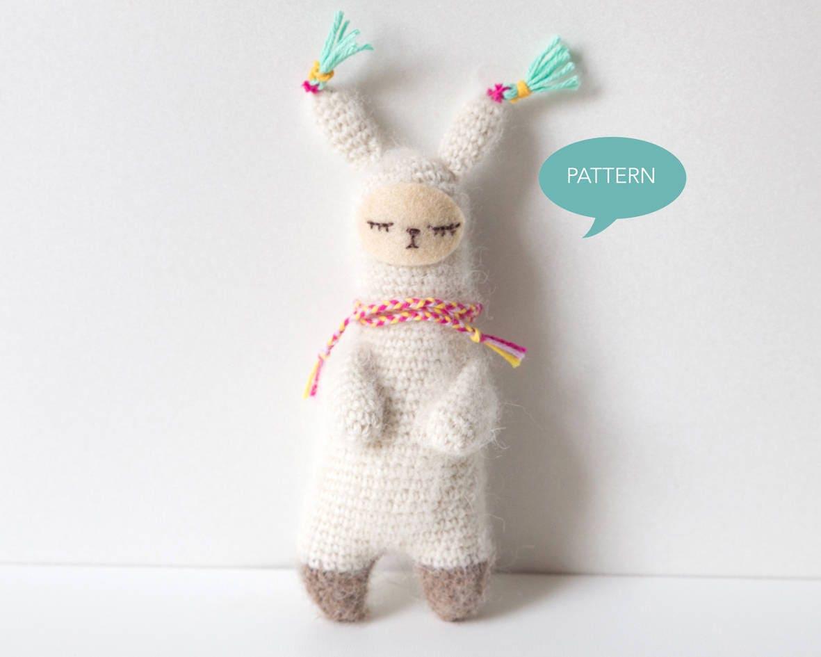 Crochet pattern Alpaca Alpaca Amigurumi Amigurumi Alpaca | Etsy