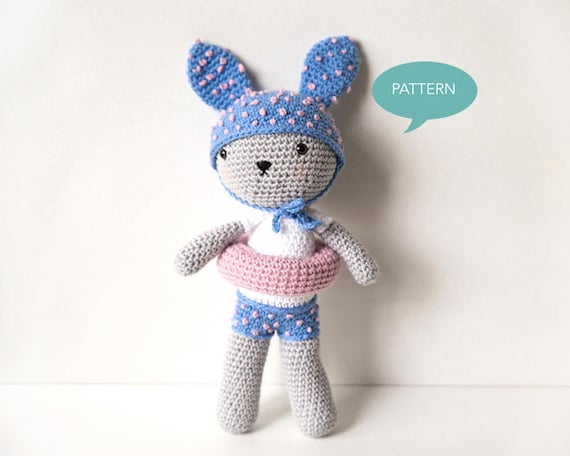 free crochet pattern bunny amigurumi - Yahoo Image Search Results ... | 456x570