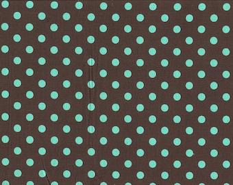 Finecord Josh Dark Grey Dots Mint Large