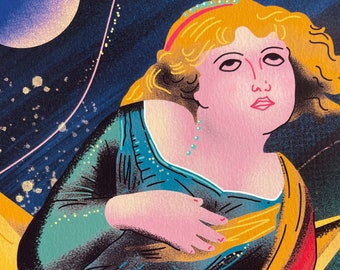 Smashing Pumpkins A3 Print - Mellon Collie and the Infinite Sadness