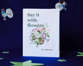 Say It With Flowers: Test Print I (CMYK)